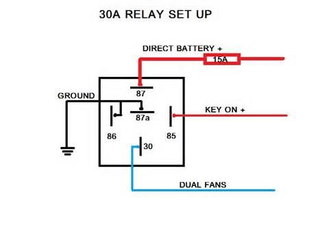 Electric Fans With Relay Wiring Electricity Automotive Mechanic Electric Fan