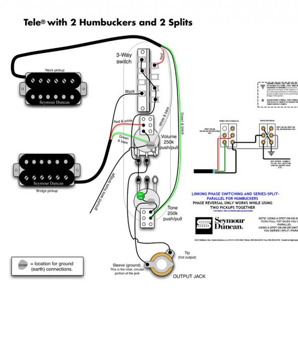 Diagram In Pictures Database Wiring Diagram For Telecaster With Two Tapped Single Coils And Two Push Pull Pots Just Download Or Read Pull Pots Maryse Conde Wiring Onyxum Com