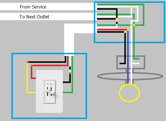 How Do I Know If A Ceiling Fan With Light And The Switch Are Wired Correctly Home Improvement Stack Exchange
