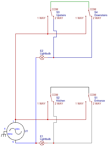 Z Wave Switches With 2 Way Switched Lights Internet Of Things Stack Exchange