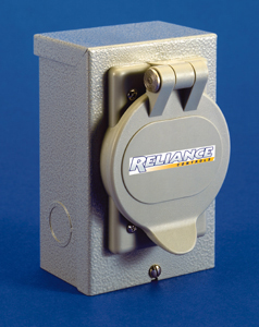 Pb15 Reliance 15a 120v Power Inlet Box