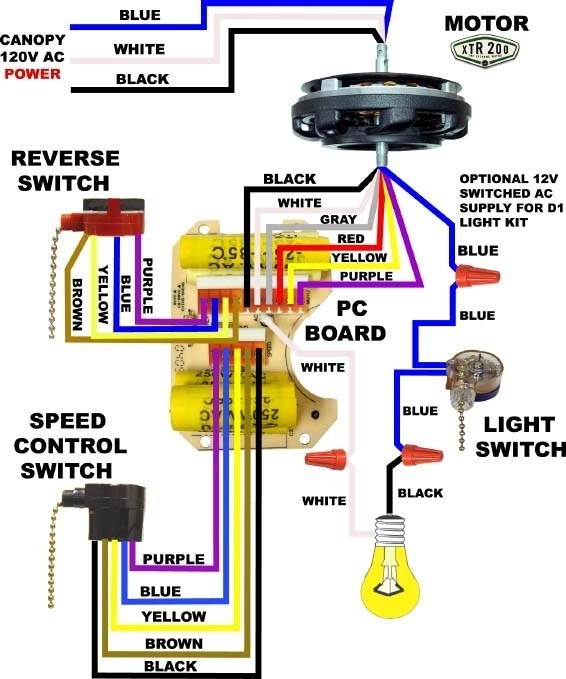 Ra 9617 3 Speed Ceiling Fan Pull Chain Switch Wiring Diagram Free Diagram