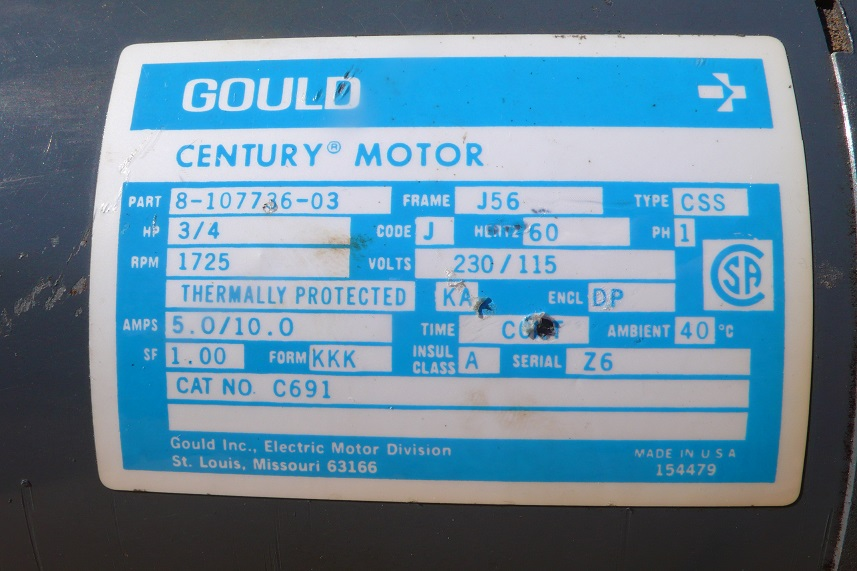 Gould Motor Wiring Diagram 02 Toyota Camry Fuel Filter Location For Wiring Diagram Schematics