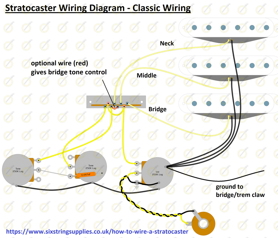 Fender Stratocaster Wiring Diagram Collection 8
